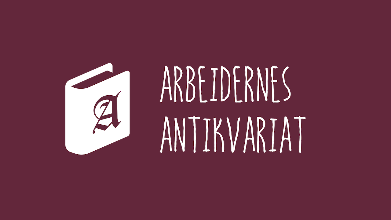 Logo for Arbeidernes Antikvariat